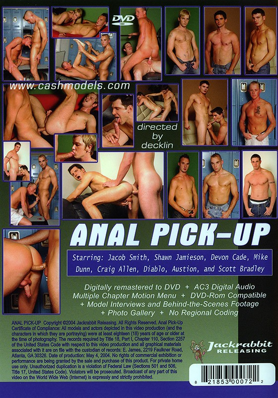Anal Pick-Up DVD - Back
