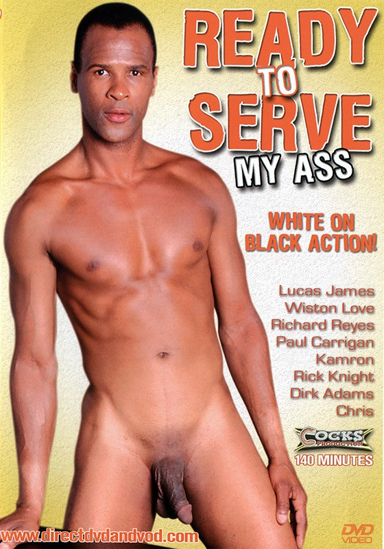 Ready to Serve My Ass DVD - Front