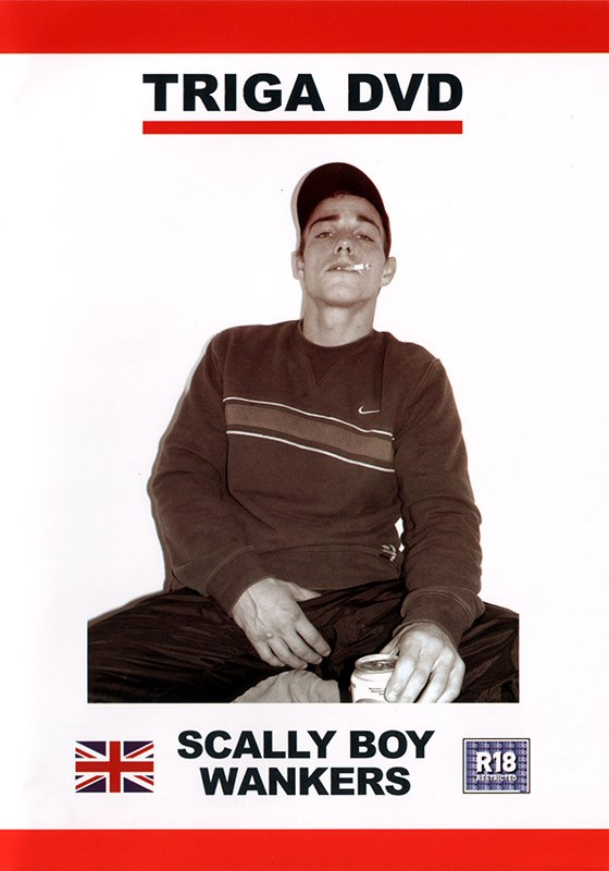 Scally Boy Wankers DVD - Front