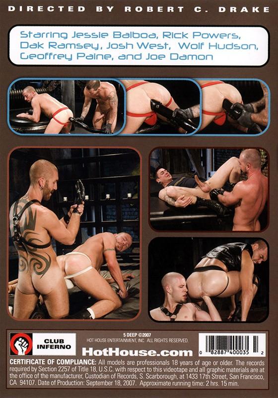 5 Deep DVD - Back