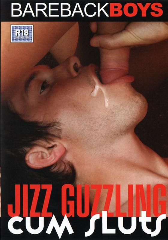 Jizz Guzzling Cum Sluts DVD - Front