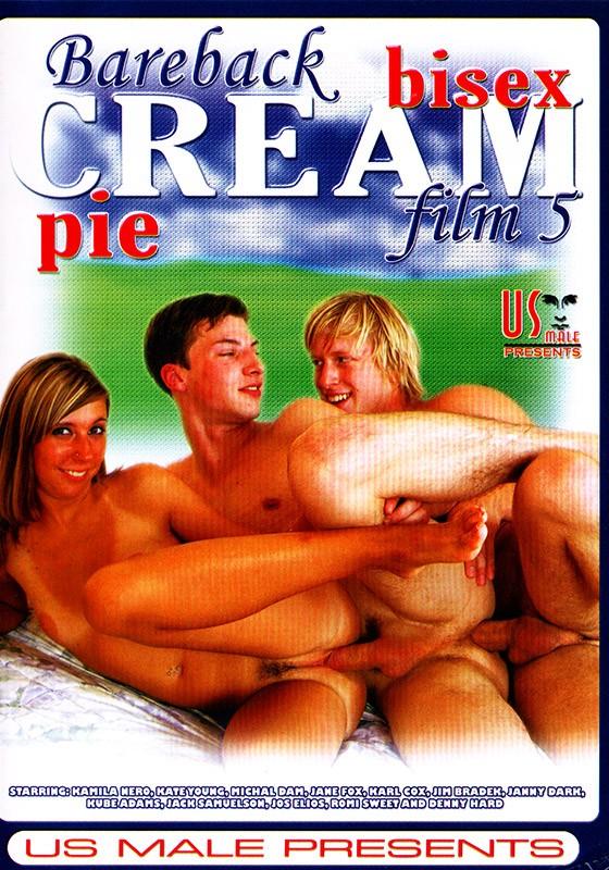 Bareback Bisex CreamPie #5 DVD - Front