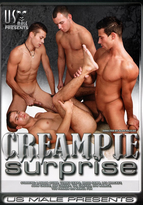 Cream Pie Surprise DVD - Front