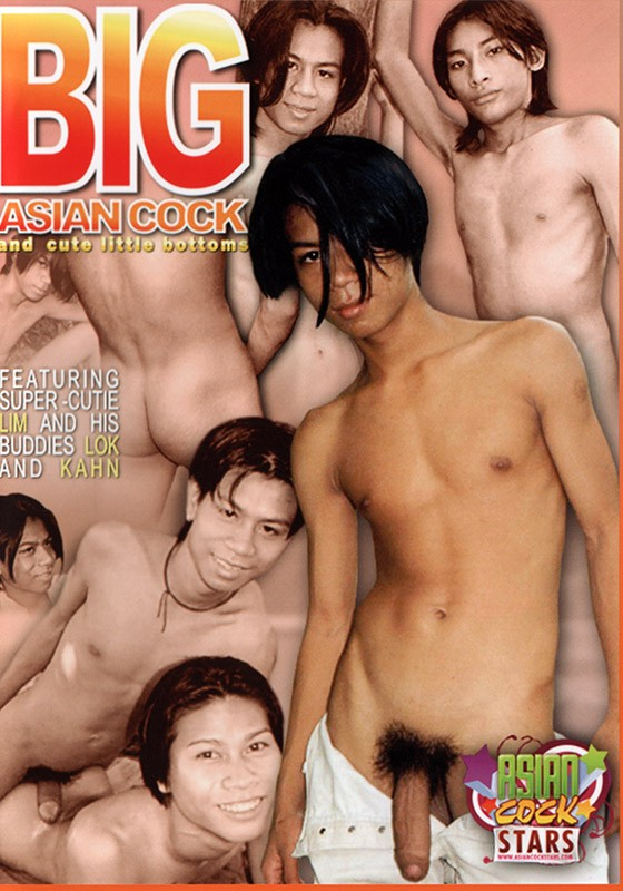 Big Asian Cock DVD - Front