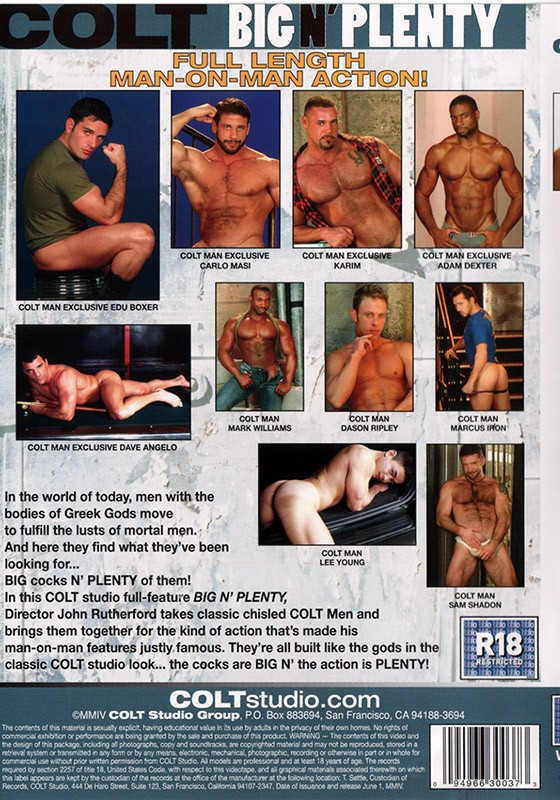 Big n' Plenty DVD - Back