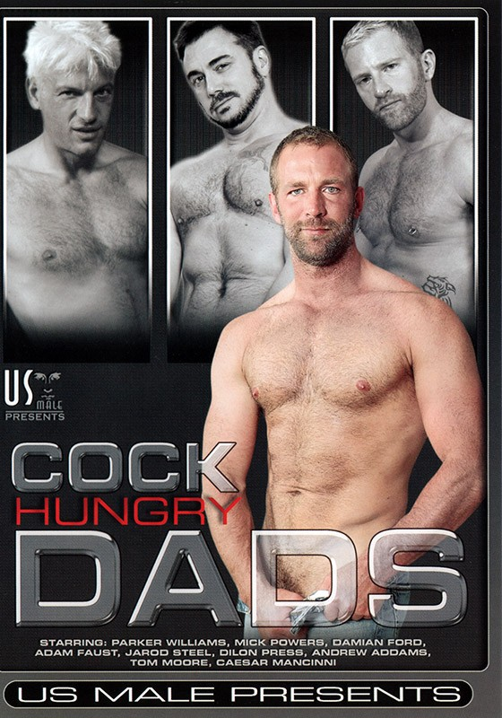 Cock Hungry Dads DVD - Front