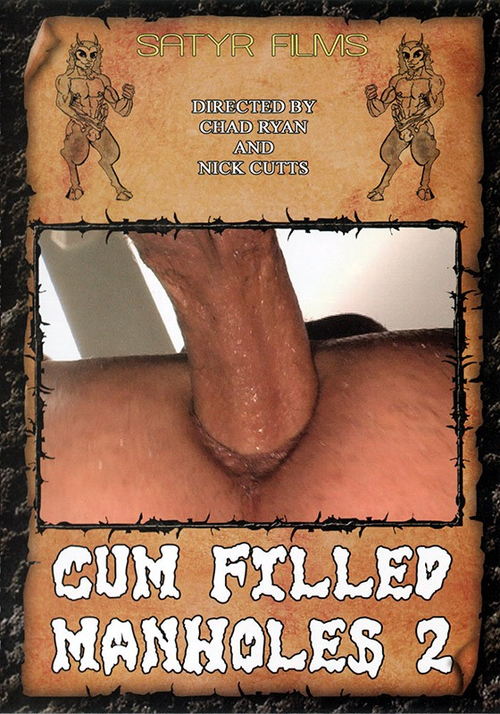 Cum Filled Manholes 2 DVD - Front