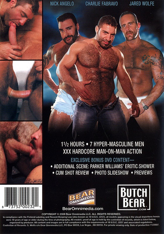 Bounty Hunter DVD - Back