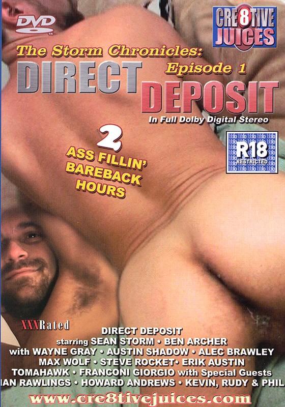 Direct Deposit DVD - Front