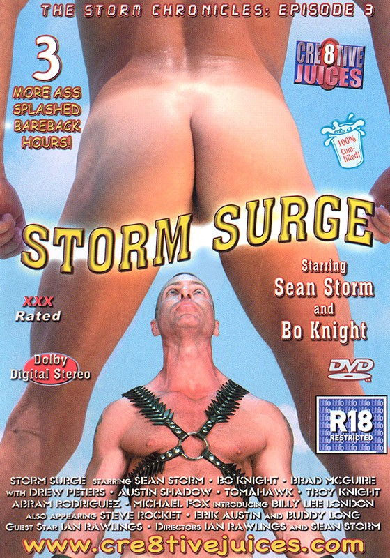 Storm Surge DVD - Front