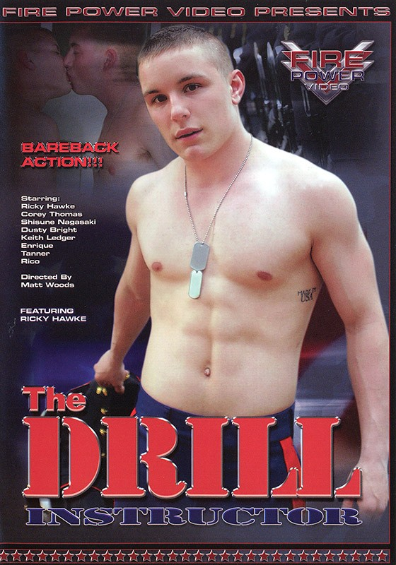 The Drill Instructor DVD - Front