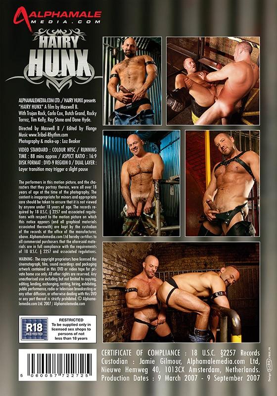 Hairy Hunx: Rough & Ready DVD - Back
