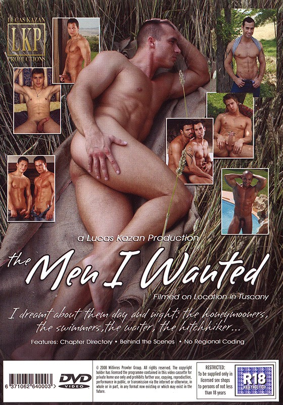 The Men I Wanted DVD - Back