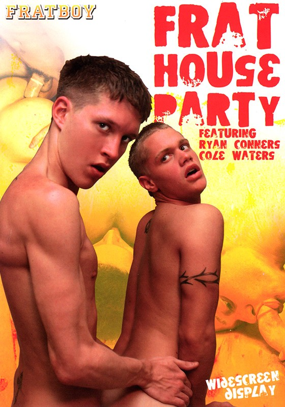 Frat House Party DVD - Front