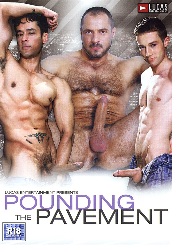 Pounding the Pavement DVD - Front