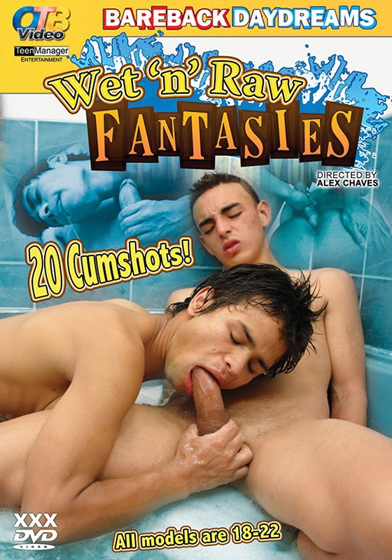 Wet 'n' Raw Fantasies DVD - Front
