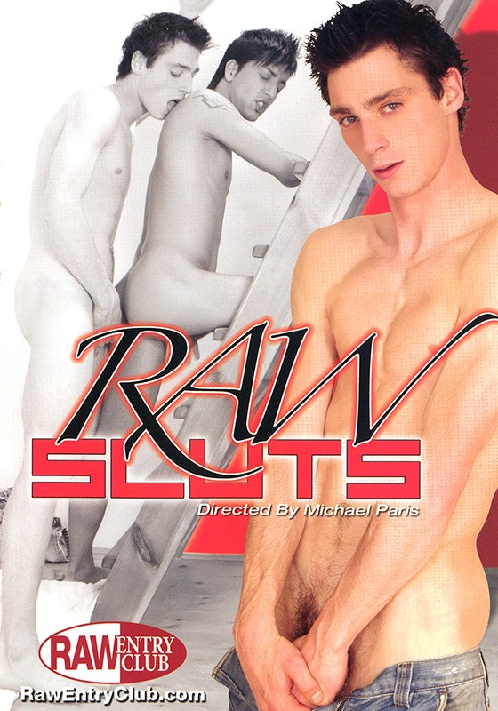 Raw Sluts DVD - Front