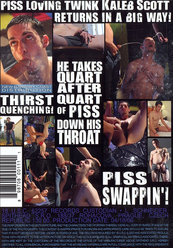 Damn Thirsty DVD - Back