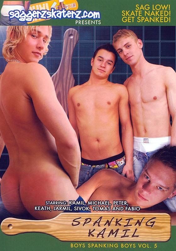Spanking Kamil DVD - Front