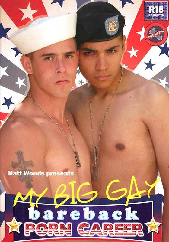 My Big Gay Bareback Porn Career DVD - Front