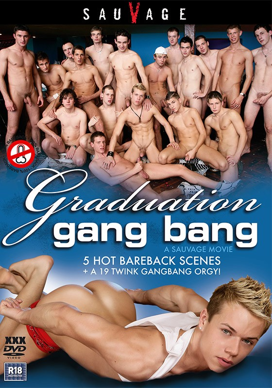 Graduation Gang Bang DVD - Front