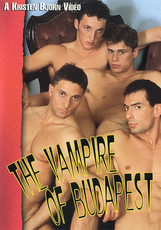 The Vampire of Budapest DVD - Front