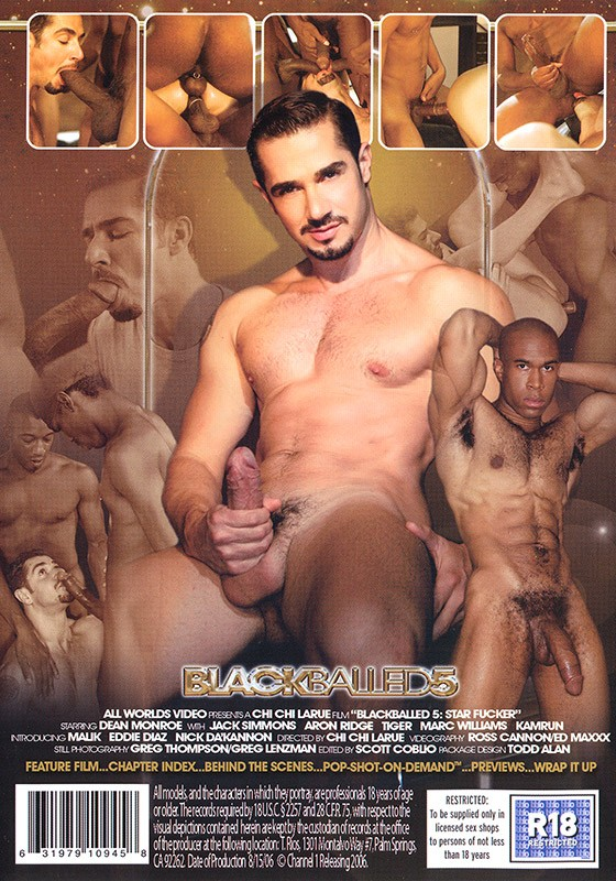 Blackballed 5: Star Fucker DVD - Back