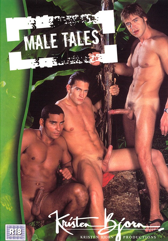 Male Tales DVD - Front