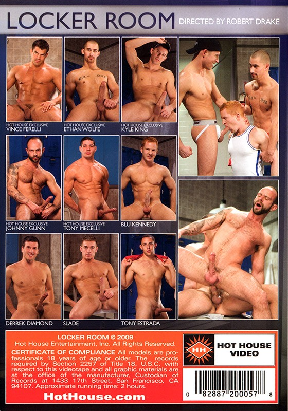 Locker Room DVD - Back