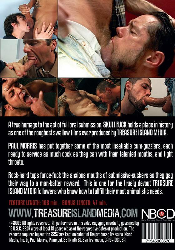 Skull Fuck DVD - Back