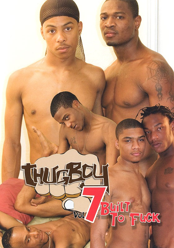 Thugboy 7: Built to Fuck DVD - Front