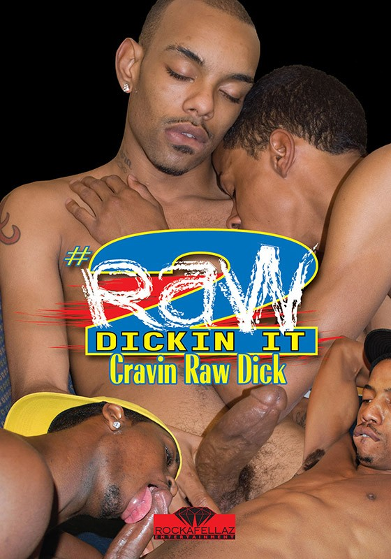 Raw Dickin It 2: Craving Raw Dick DVD - Front