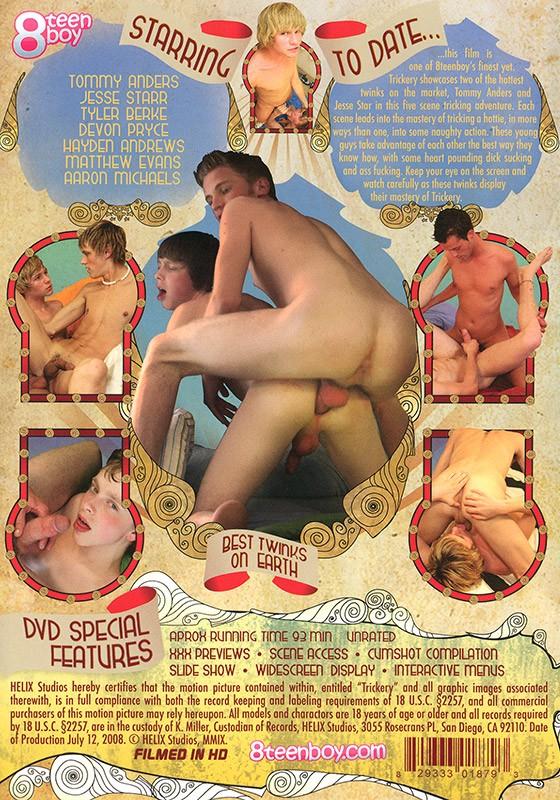 Trickery DVD - Back