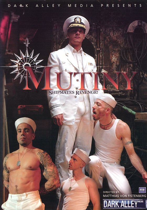Mutiny DVD - Front