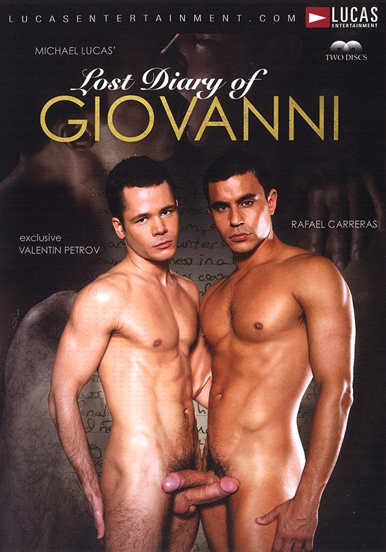 Lost Diary of Giovanni DVD - Front
