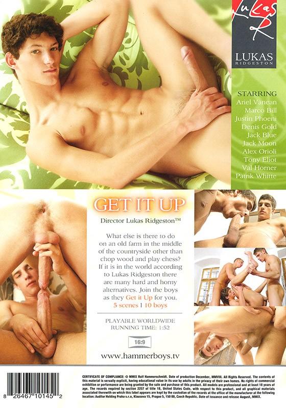 Get It Up DVD - Back