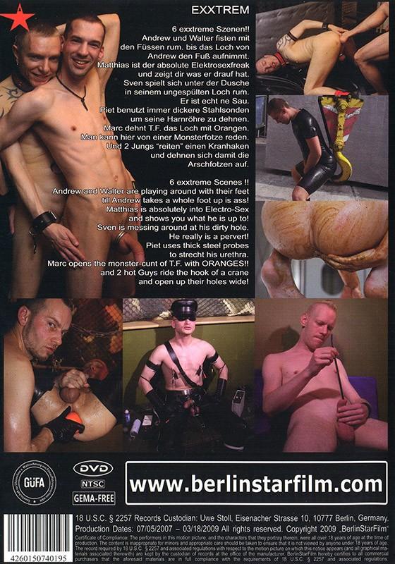 Exxtrem DVD - Back