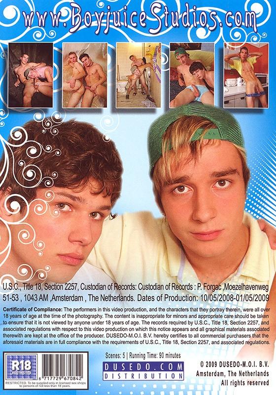 Boyjuice 8 DVD - Back