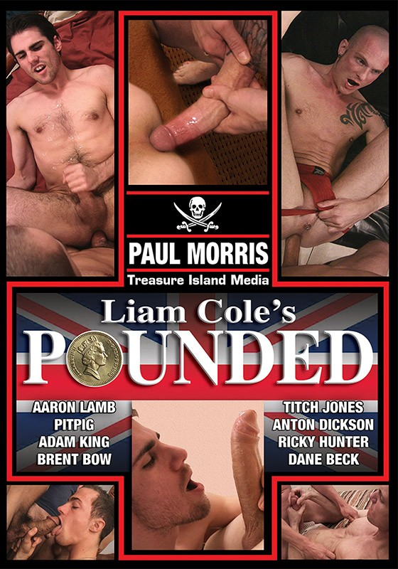 Liam Cole's Pounded DVD - Front