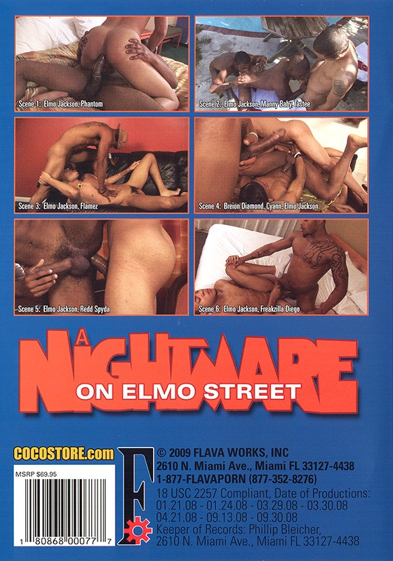 A Nightmare on Elmo Street DVD - Back
