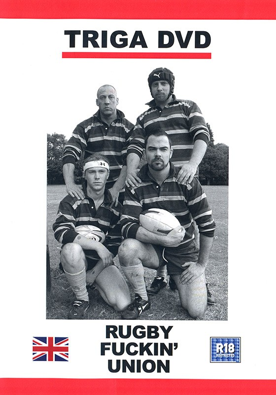 Rugby Fuckin' Union DVD - Front