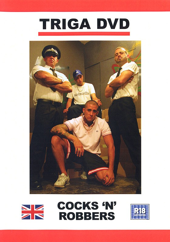 Cocks 'n' Robbers DVD - Front