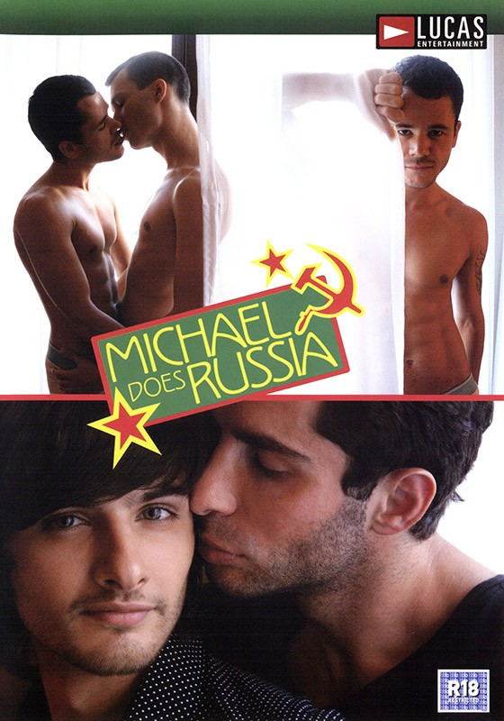 Michael Does Russia DVD - Front