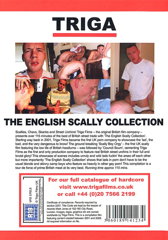 The English Scally Collection DVD - Back