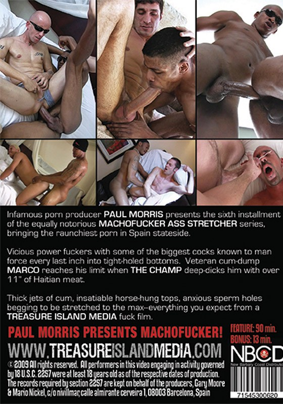 Ass Stretcher 6 DVD - Back