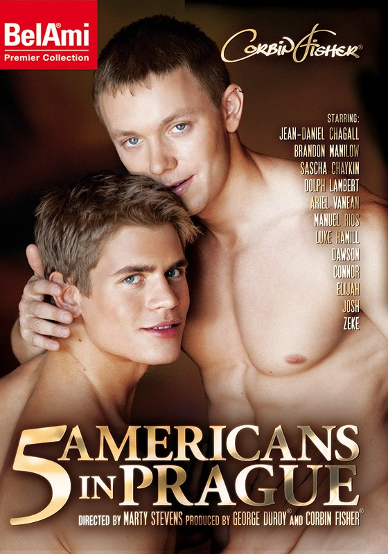 5 Americans in Prague DVD - Front