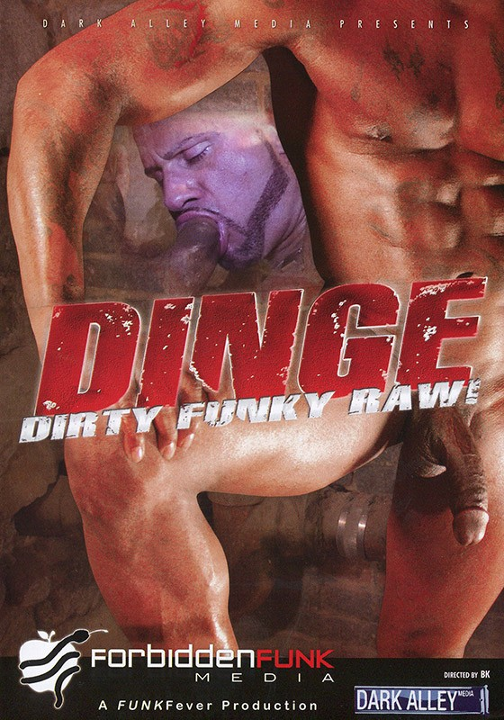 Dinge: Dirty Funky Raw! DVD - Front