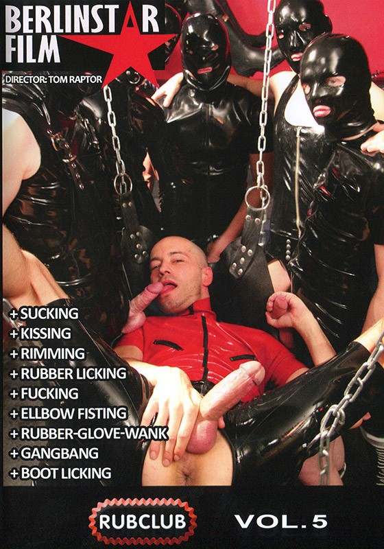 Rub Club volume 5 DVD - Front