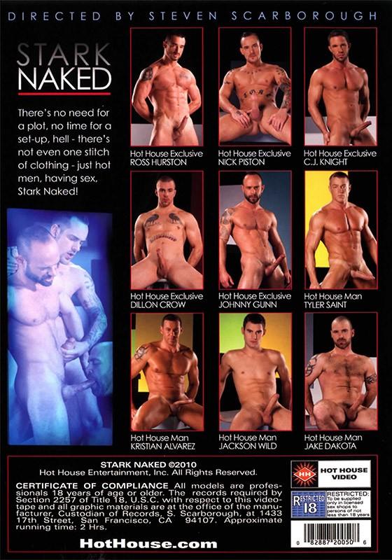 Stark Naked DVD - Back