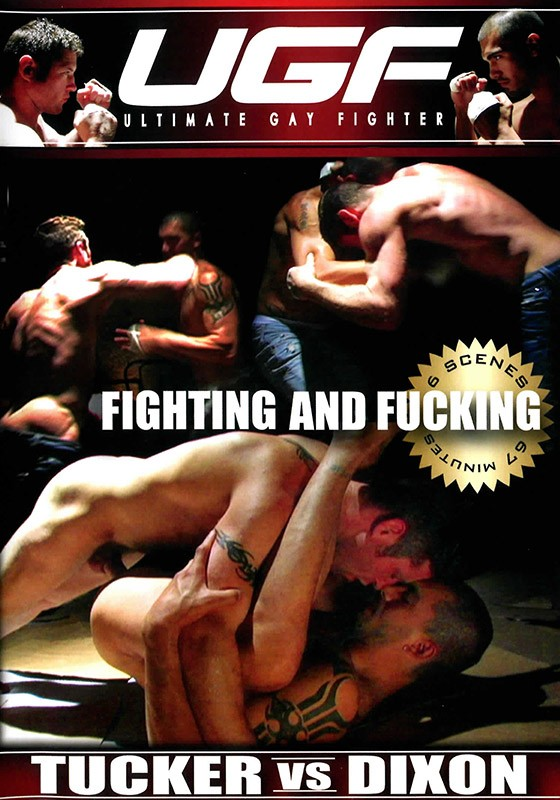 UGF: Fighting & Fucking DVD - Front